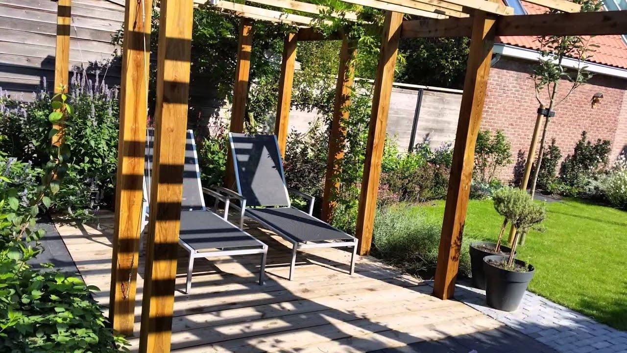 stadstuin tuin ontwerpen voorbeelden youtube