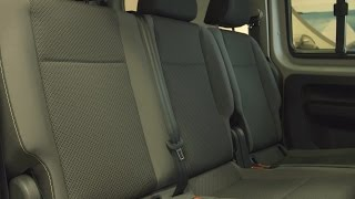 Bemutatjuk az új Caddyt! Az ülések.
