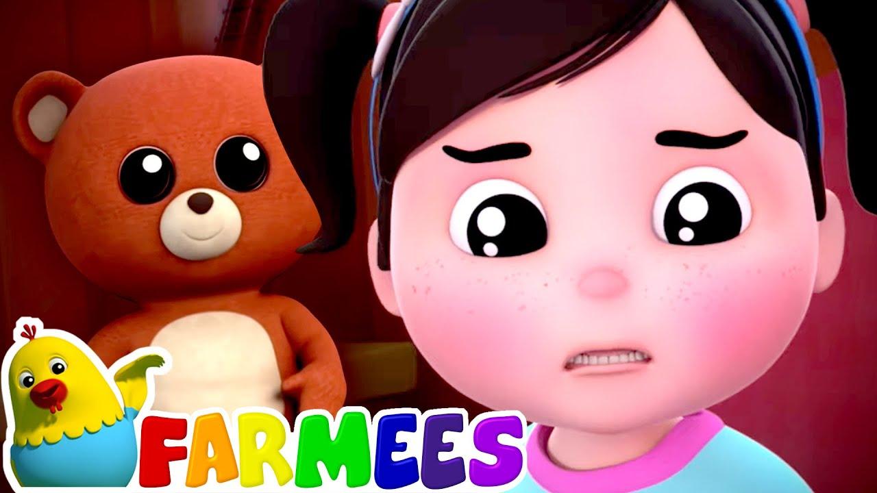 Scared Of The Dark Song | Kids Songs & Nursery Rhymes | Baby Cartoon | Children's Music - Farmees