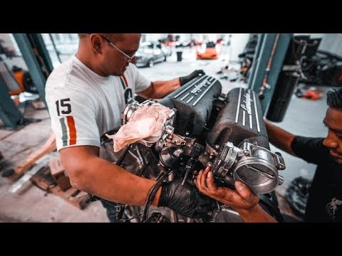 Building a Lamborghini Engine 1500 HP !!!