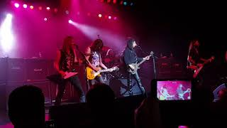 Ace frehley and gene simmons back on stage together - Sydney Australia 2018