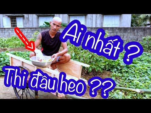 Ai Là Người Làm Món Ngon Nhất Từ Đầu Heo - Tranh Tài Vua Đầu Bếp | Son Duoc Vlogs