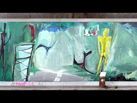 Mauer - East Side Gallery (4K)