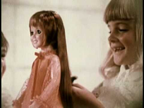 Beautiful Crissy Growing Hair Doll By Ideal Youtube
