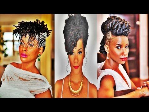 Glamorous Wedding Hairstyles for Black Women 2017