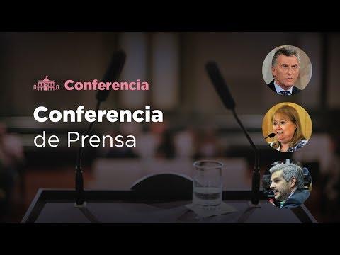 Conferencia de Prensa del jefe de Gabinete Marcos Peña y la Canciller Susana Malcorra