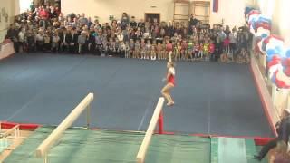 Выступление на день гимнастики СДЮШОР №25 г.Омск