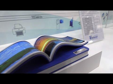 Visionox Flexible OLED Booth Tour at SID Display Week 2018