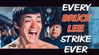 Every Bruce Lee Strike. Ever / Все удары Брюса Ли / Bruce Lee 2017