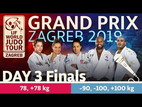 Judo Grand Prix Zagreb 2019 Day 3 Final Block Youtube