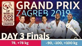 Judo Grand-Prix Zagreb 2019: Day 3 - Final Block