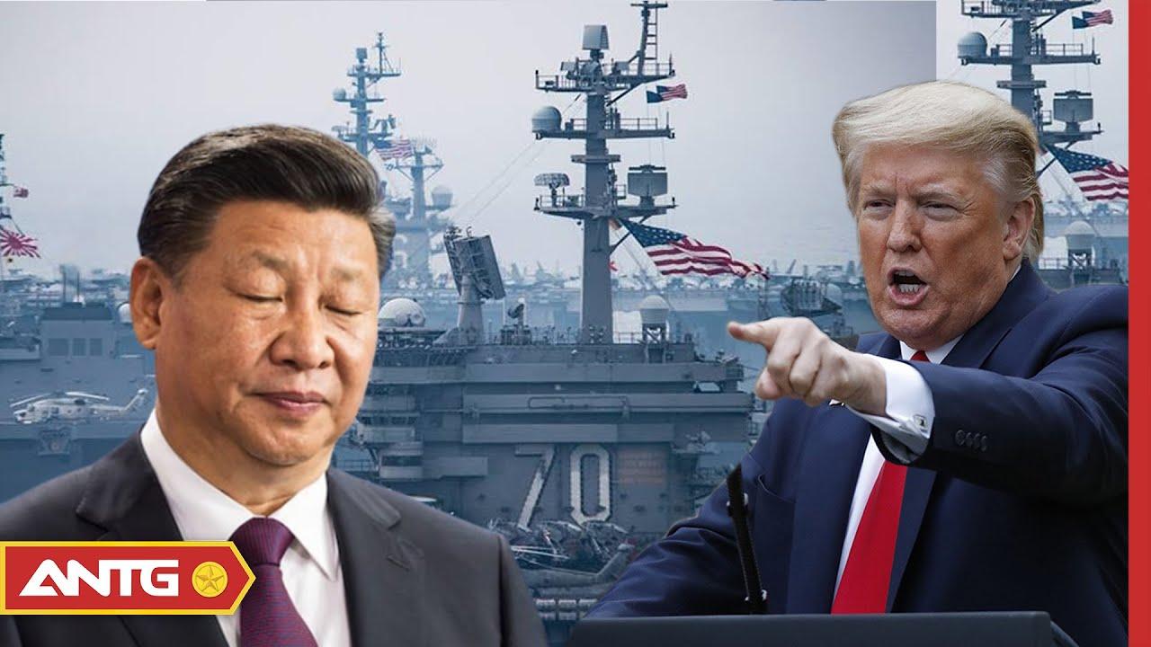 Tin tức Biển Đông mới nhất ngày 08/07 | Mỹ - Trung tập trận, ai mạnh hơn? | ANTG