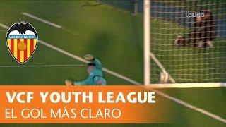 Gol de penalti no concedido al Valencia CF ante el Chelsea FC en la UEFA Youth League