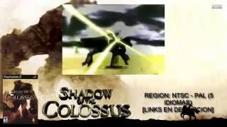 [PS2] Shadow of the Colossus【ISO NTSC - PAL 5 IDIOMAS】(MEGA)