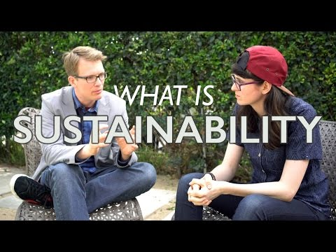 What is sustainability? with Hank Green