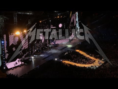 METALLICA DENVER COLORADO 06-07-2017 hardwired tour
