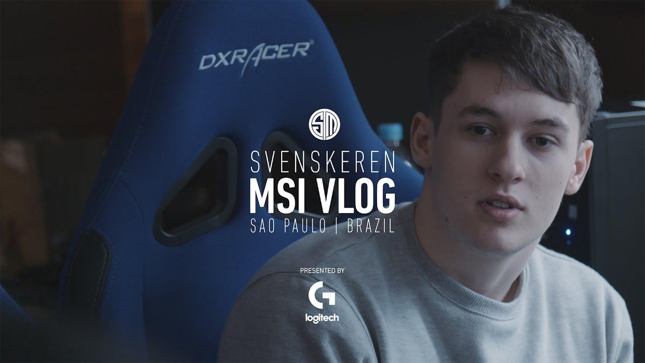 Tsm Svenskeren Msi Vlog Youtube