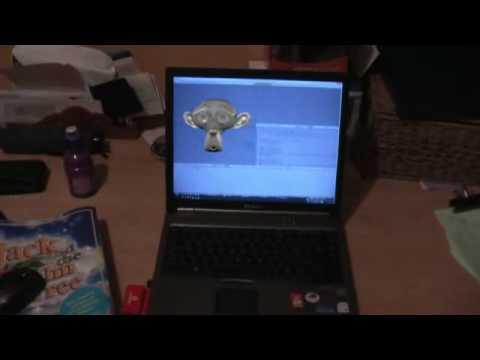 3D Laptop Screen