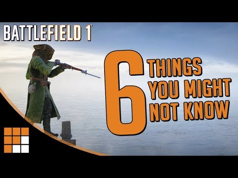 6 Interesting Things You Might Not Know About Battlefield 1