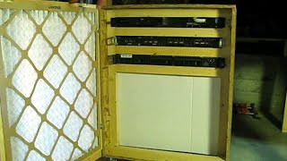 Build A Server Cabinet With Air Filtration
