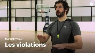 Apprendre les violations des règles | Basketball