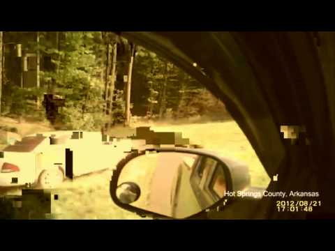 Arkansas game warden goes Rambo during a meth head car chase, good or bad?