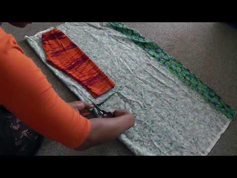 DIY:SIMPLE ANKARA KID'S TROUSER | PANTS  WITHOUT PATTERN