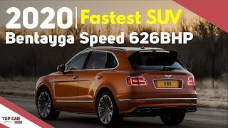 2020 Bentley Bentayga Speed Overview - Interior and Exterior