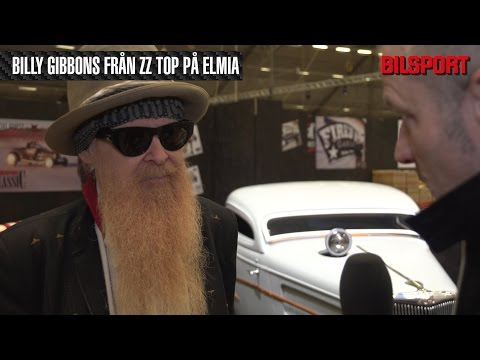 ZZ Tops Billy Gibbons på Bilsport Performance & Custom Motor Show