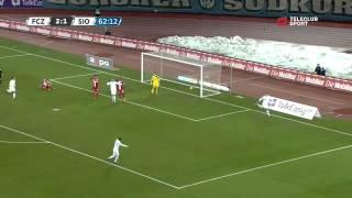 FC Zürich vs FC Sion 3-1 / Raiffeisen Super League / 02.03.2013