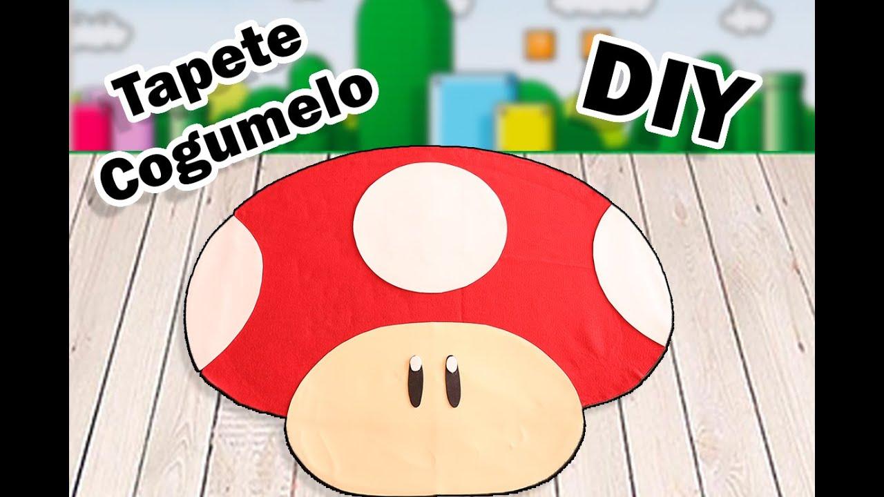 Tapete Cogumelo Super Mario Bros - Mushroom Carpet Super Mario Bros