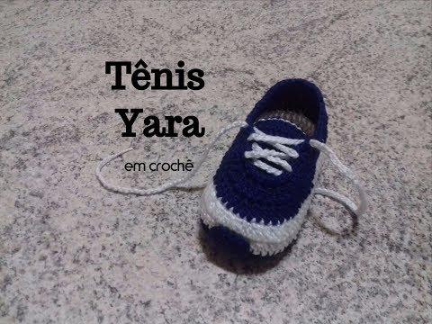 Tênis Yara em crochê