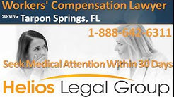 Tarpon Springs Workers' Compensation Lawyer & Attorney - Florida