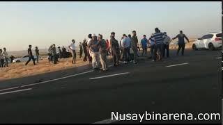 Nusaybin'de otomobil ile motosiklet çarpıştı 1 ölü
