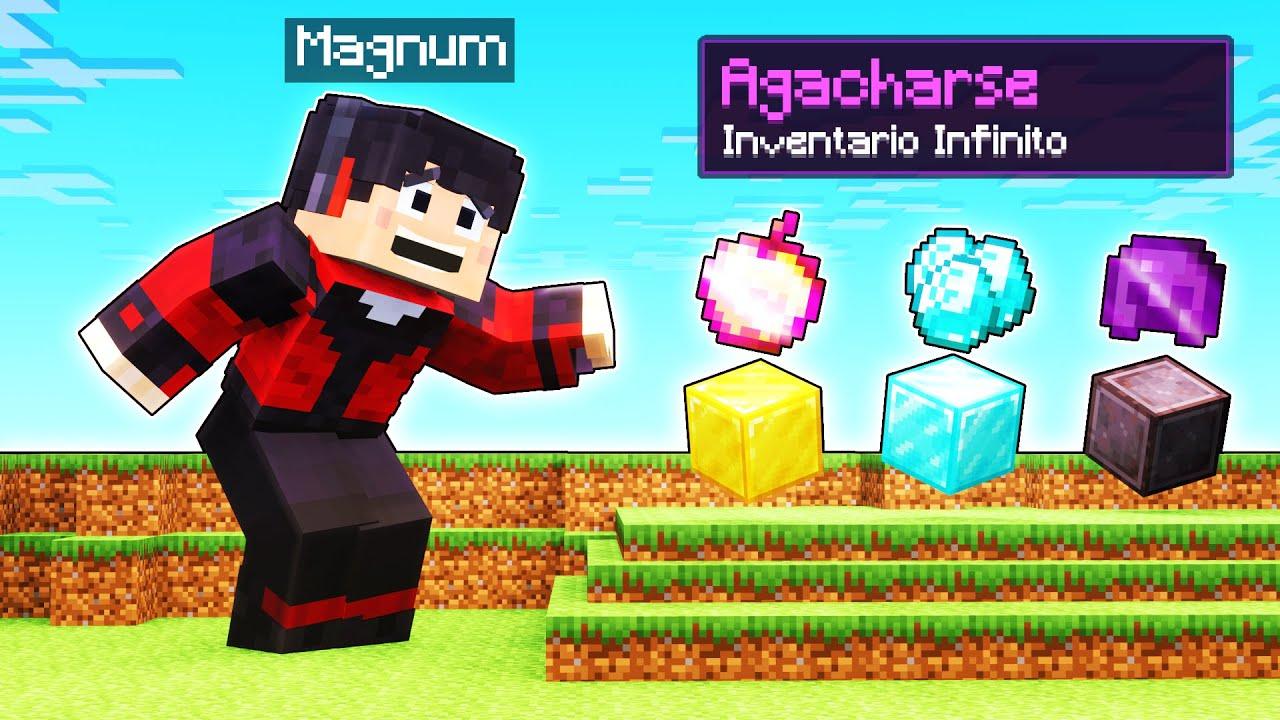 INVENTARIO INFINITO SI TE AGACHAS! 😱🤣 | Minecraft