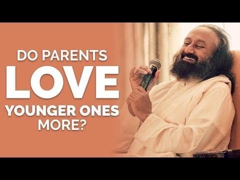 Do parents really love younger ones more? | Wisdom Talks | Gurudev Sri Sri Ravi Shankar