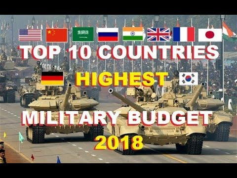 Top 10 Countries In Military Budget 2018