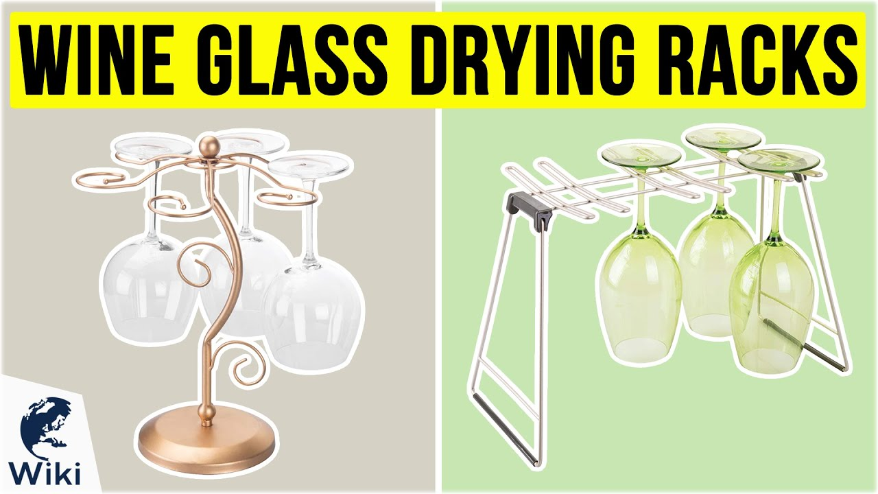 10 best wine glass drying racks 2020