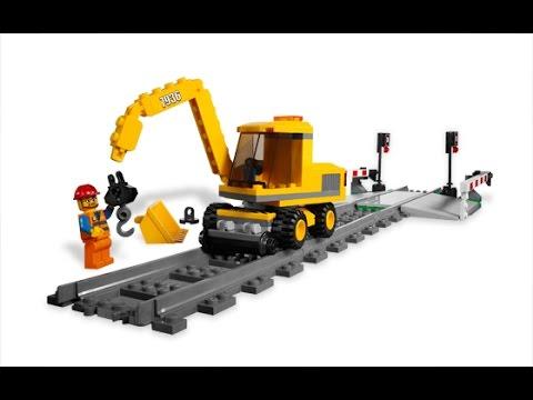 Lego city trenes paso a nivel lego juguetes para ni os - Construcciones de lego para ninos ...