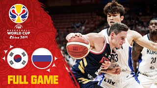 Korea give it their all against Russia! - Full Game - FIBA Basketball World Cup 2019