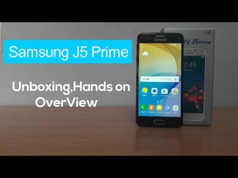 [Hindi] Samsung J5 Prime Unboxing And Overview