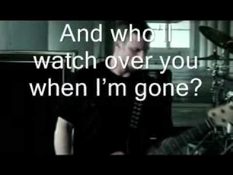 Alter Bridge - Watch Over you - lyrics