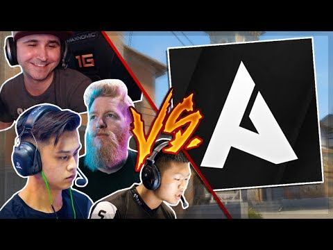 Ahrora vs Summit1g, Stewie2k, Fl0m & Wardell