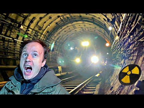 ✅Нашли Ядерный БУНКЕР в МЕТРО ☢☢☢ Как убежать от ПОЕЗДА в ТОННЕЛЕ 🚇🚉