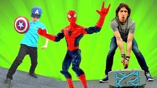 Человек Паук и новые Мстители! Игры для мальчиков.