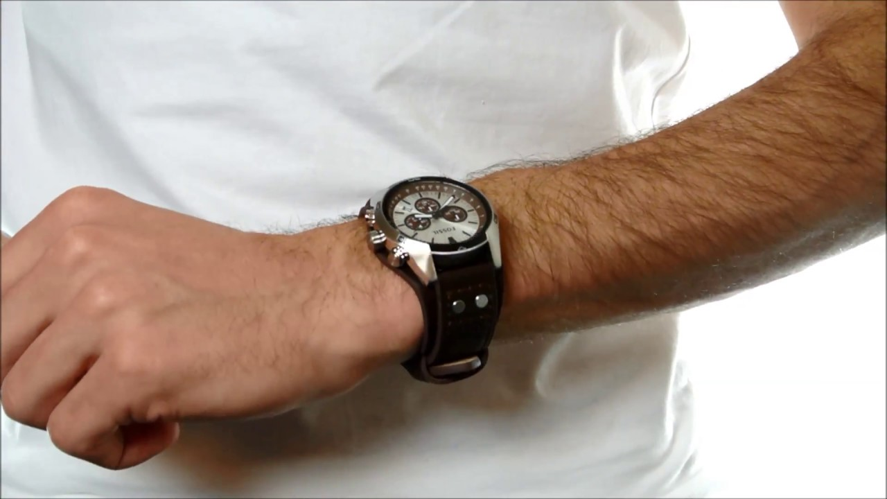Fossil CH2565 Coachman Horloge - YouTube 213db3bf57
