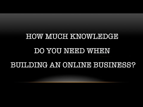 Knowledge Vs Action when building a business