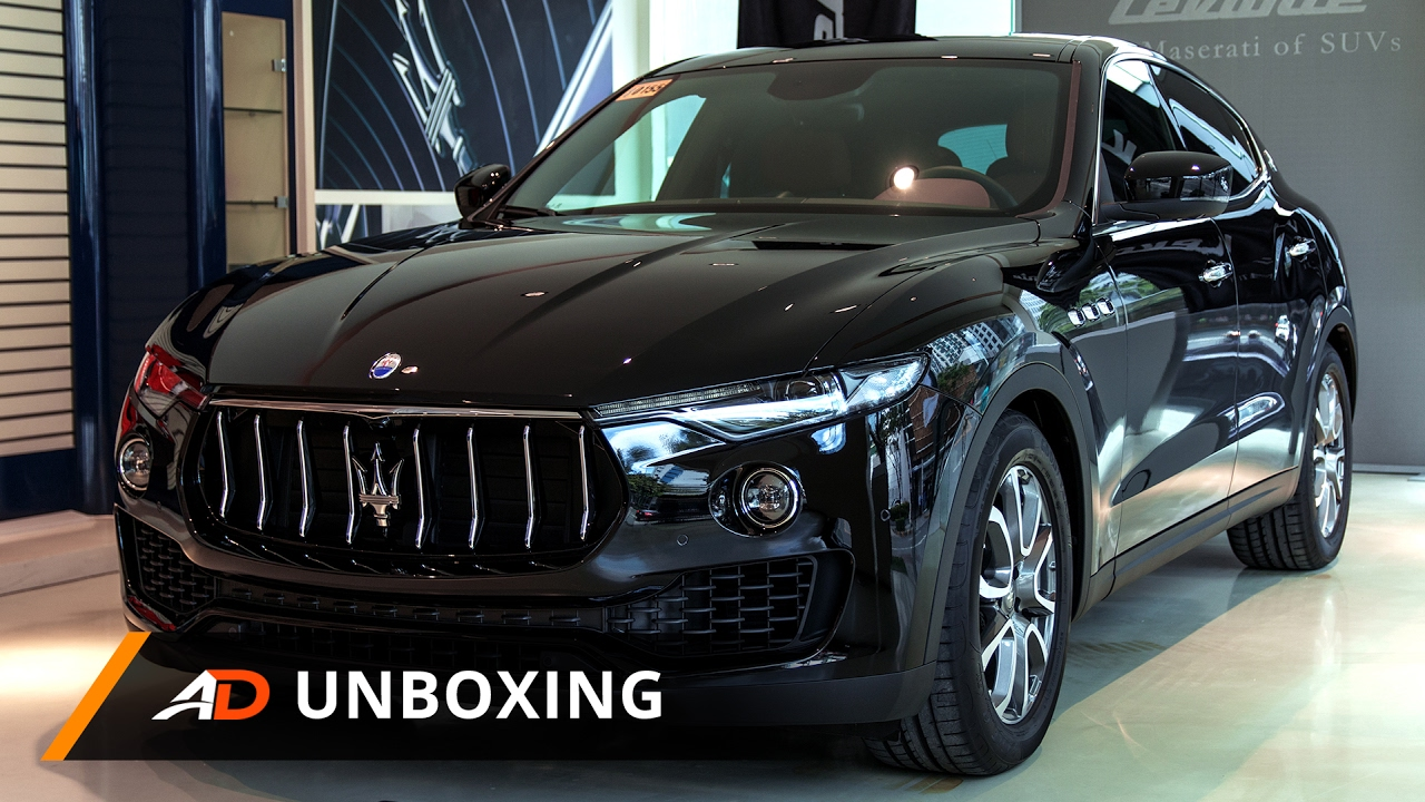2017 maserati levante diesel autodeal unboxing youtube. Black Bedroom Furniture Sets. Home Design Ideas