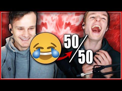 VERBODEN TE LACHEN: 50/50 CHALLENGE! (Ft. JoostSpeeltSpellen)