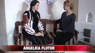 Interpreta de muzică populară Angelica Flutur pregăteşte cântece noi